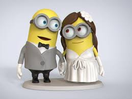 minions cake toppers minion wedding cake topper