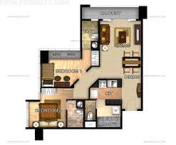 2 bedroom condo floor plans three central preselling condominium for sale in makati metro