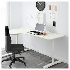 Corner Desk White Bekant Corner Desk Left White 160x110 Cm Ikea