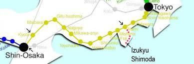 Osaka Train Map How To Get To Shimoda From Osaka Or Kyoto Guesthouse Tabi Tabi