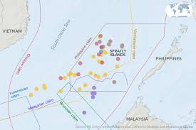 sea of map south china sea indonesia renames part of maritime economic zone