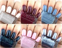 90s inspired nail colors essie fall 2017 collection review and