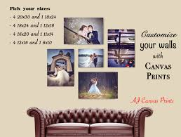 Bedroom Wall Canvases Wall Art Photo Collage Dinning Living Room Wall Art Photos To
