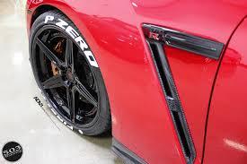 red nissan red nissan gt r black edition adv5 track spec cs wheels adv 1