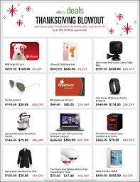 best thanksgiving day deals ebay announces deals for thanksgiving black friday and cyber