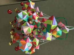 today i learn origami ornaments office