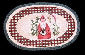 Santa Claus Rugs Christmas Area Rugs Holiday Area Rugs Shaw Rugs For Sale