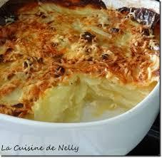 cuisine gratin dauphinois gratin dauphinois la cuisine de nelly
