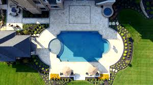 Cincinnati Pool And Patio by Travertine Pool Deck Installation In Indian Hills Ohio