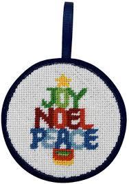 peterson word tree ornament