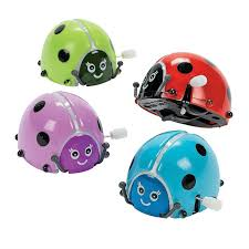 halloween wind up toys amazon com fun express flipping wind up lady bugs 1 dozen toys