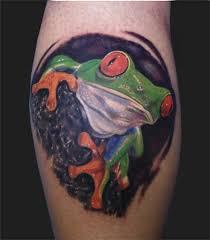 re eyed tree frog by daniel chashoudian tattoonow