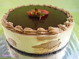 bakericious chocolate nutella dulce de leche mousse cake
