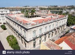 cuba now rooftop view over the palacio de los capitanes generales downtown