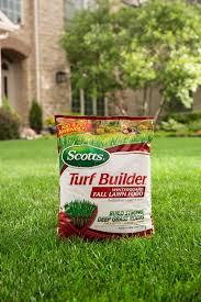 scotts turf builder winterguard fall lawn food lawn care scotts