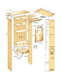 Kitchen Cabinet Construction Details by Bathroom Wall Cabinet Woodworking Plans Woodshop Plans Simple
