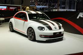 volkswagen bug 2016 white geneva 2012 think small and very fast the new abt beetle
