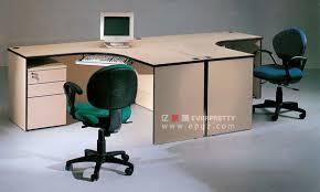 bureau deux personnes station de travail du personnel pour deux personnes bureau de