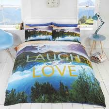 Single Duvet And Pillow Set Live Laugh Love Duvet Cover Set King Size