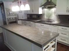 Concrete Countertops Kitchen How To Make Diy Cast In Place White Concrete Countertops Plastic