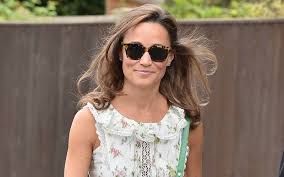 pippa middleton went for a birthday bike ride in the cutest