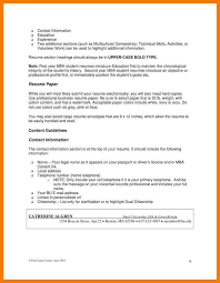 Additional Information On Resume Another Good Place To Getresume Info And Tipsis The Nova Workforce