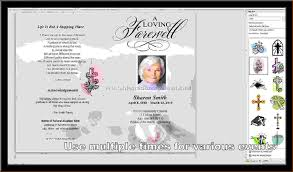 make a funeral program 10 how to make a funeral programagenda template sle agenda
