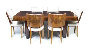 art deco dining table and chairs uk ebay furniture room tables