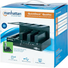 usb 3 0 sata 4 ports hdd docking station manhattan from conrad com