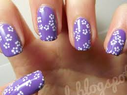 25 simple flower designs for nails nails pix