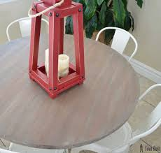 Diy Round Wood Table Top by Farmhouse Style Round Pedestal Table Her Tool Belt