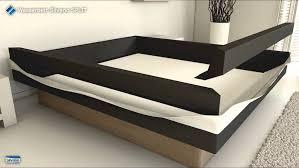 design wasserbett aufbau wasserbett silvano split
