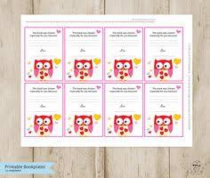 owl printable bookplates baby shower bookplate book plates