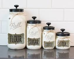 4 piece canister set etsy