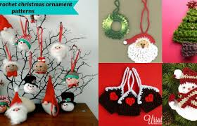 25 free crochet ornament patterns