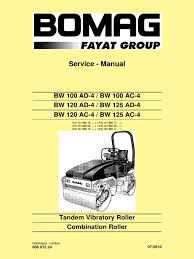 manual de servicio bw 120 ad 4 pdf electrical connector