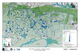 Oakland Zip Code Map by The Watershed And Stormwater Management Rain Barrel Program