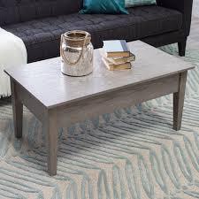 Belham Living Hampton Lift Top Coffee Table White Oak Hayneedle by Turner Lift Top Coffee Table Gray Hayneedle