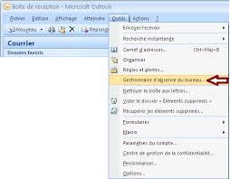 message absence bureau comment utiliser le gestionnaire d absence du bureau dans outlook