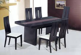 modern dining table designs with glass top modern dining table