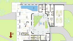 house plans with pools indoor courtyard house plans luxamcc org