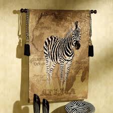 Zebra Shower Curtain by African Voyage Elephant Wall Tapestry