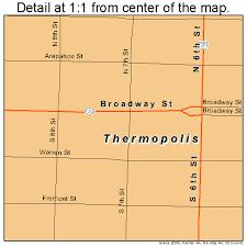 map of thermopolis wyoming thermopolis wyoming map 5676515