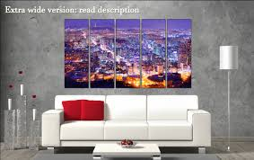 Korean Wallpaper Home Decor Seoul Canvas Wall Art Seoul Canvas Art Seoul Wall Decoration Seoul
