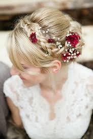 fleurs cheveux mariage fleurs mariage 55 idées déco de table et bouquet de mariée