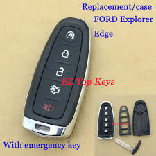 f0060 remote key fob uncut blade case 5 button with small key for