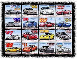corvette all models give the gift of corvette artwork from teeters illustrated
