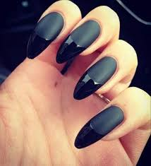 12 best elegant matte black nail polish images on pinterest