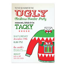 Christmas Sweater Party Ideas - ugly sweater party invitation u2013 gangcraft net