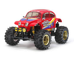 volkswagen tamiya monster beetle 2015 2wd monster truck kit by tamiya tam58618